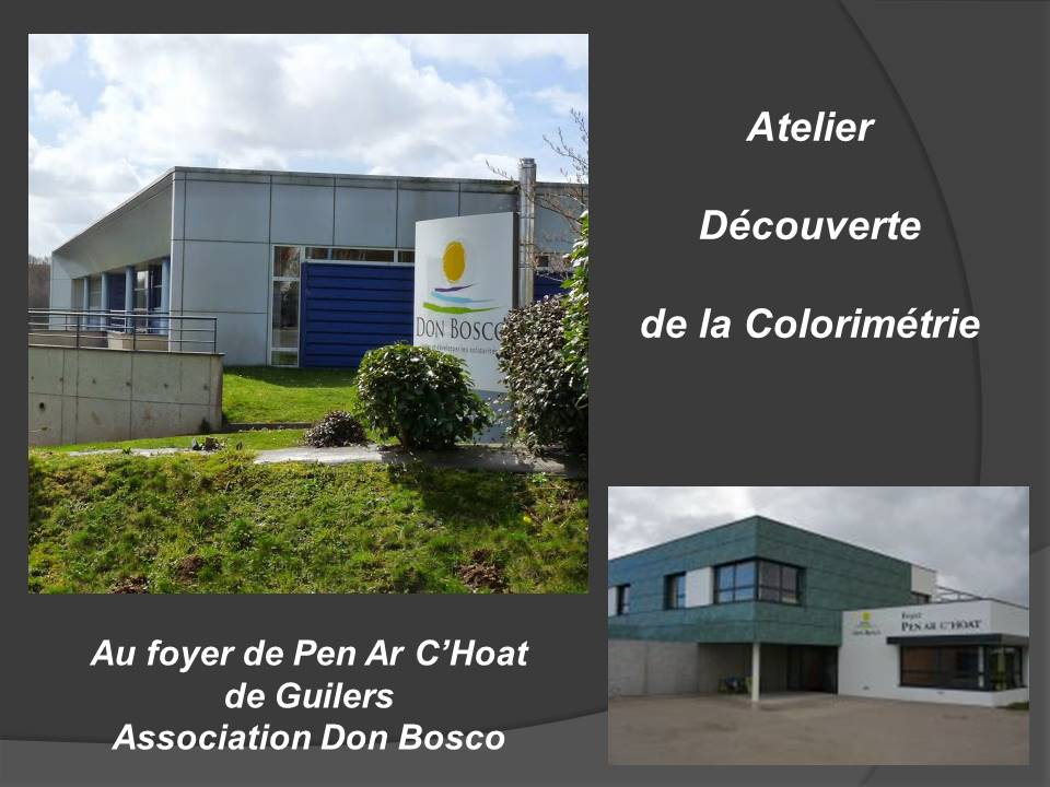 atelier colorimetrie decouverte Don Bosco
