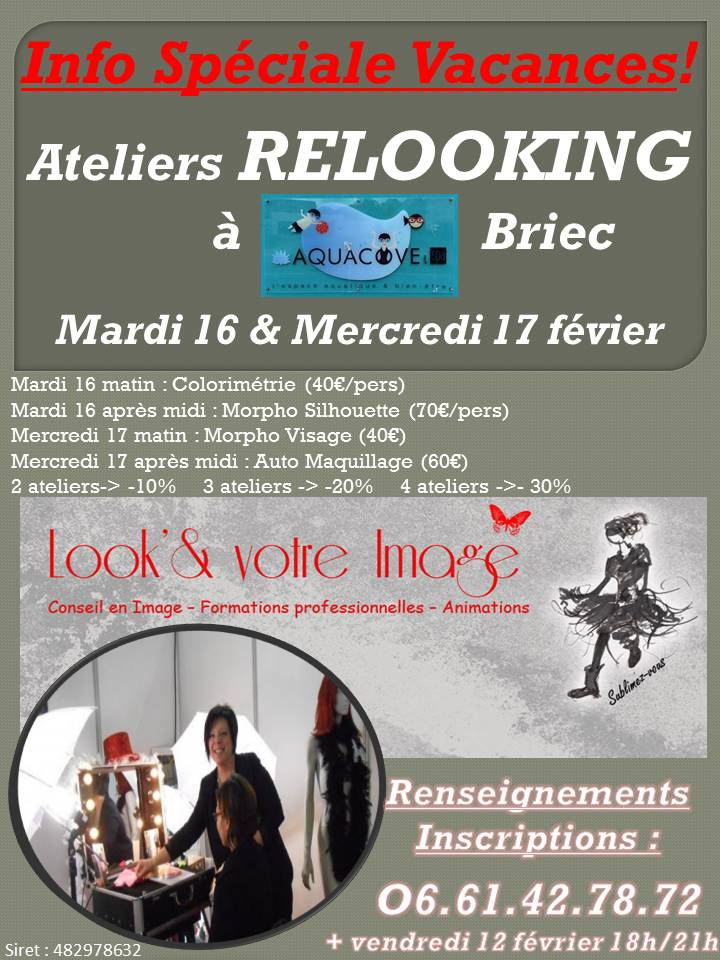 Ateliers relooking Briec vac Hiver