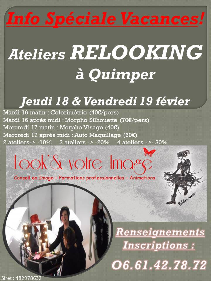 Ateliers relooking Quimper Vac Hiver